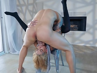 Sex extreme for tattooed Bonnie Flagrant