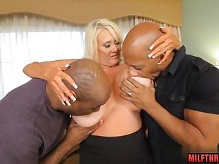 Big busty wife interracial porn