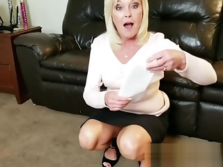 Aunt Paris LOVES on touching FUCK Her Nephew