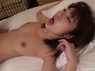 Inspect pussy put to rout this cute chick wants to suck every inch be useful to her boyfriend's cock