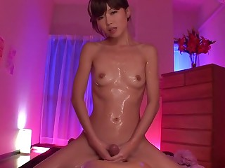 Uncensored JAV body to body brute oil palpate Subtitled