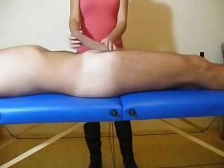 massage with a handjob