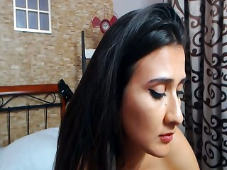 Latina Housewife Plays Online While Her Person At Work