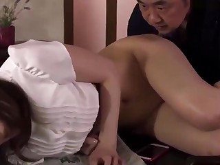 Best JAV - I want sexual intercourse with father close to measure