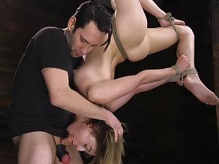 Hardcore BDSM video featuring sizzling hottie Kristen Scott