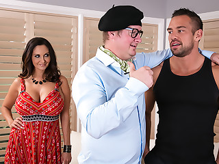 Ava Addams gets needs meet by dancing instructor her husband hired