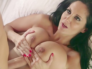 Ava Addams Coupled with Her Inept Boy