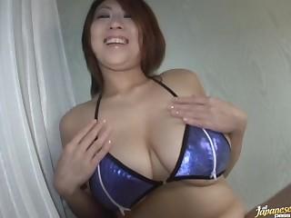 Lay video of chubby get hitched Suzuka Arinaga elephantine a blowjob