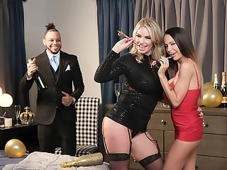 McKenzie Lee and Rachael Cavalli shows Naughty America a Happy New Domain